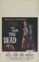 Back from the Dead movie poster (1957) picture MOV_a1f14524