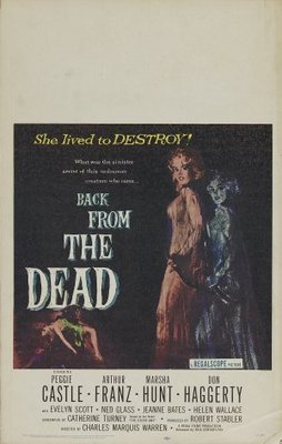 Back from the Dead movie poster (1957) poster MOV_b39def09