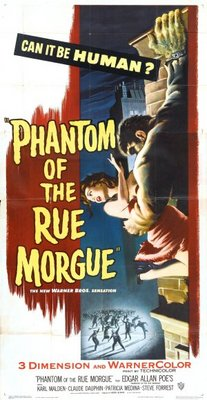 Phantom of the Rue Morgue movie poster (1954) poster MOV_b3bab905