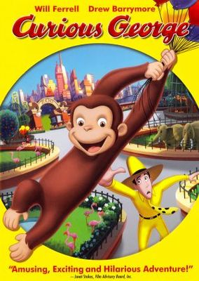 Curious George movie poster (2006) poster MOV_b3c6ea21