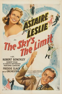 The Sky's the Limit movie poster (1943) poster MOV_b3d52f37