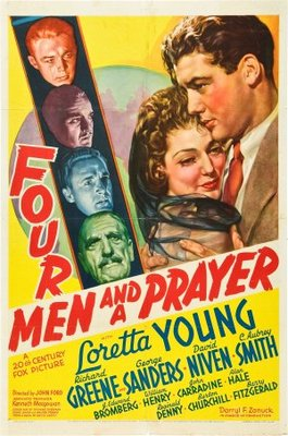 Four Men and a Prayer movie poster (1938) poster MOV_b3e8cea0