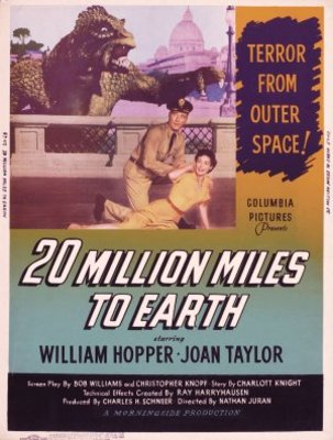 20 Million Miles to Earth movie poster (1957) poster MOV_b3f2999b