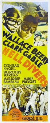 Hell Divers movie poster (1931) poster MOV_b40cf5c9