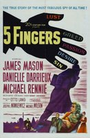 5 Fingers movie poster (1952) picture MOV_b414b795