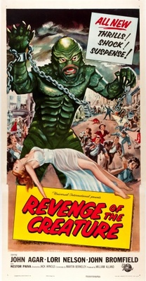 Revenge of the Creature movie poster (1955) poster MOV_b42a0ec3