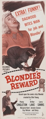 Blondie's Reward movie poster (1948) poster MOV_b43ec526