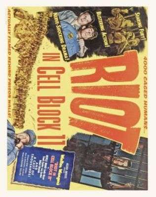 Riot in Cell Block 11 movie poster (1954) poster MOV_b451a2a2