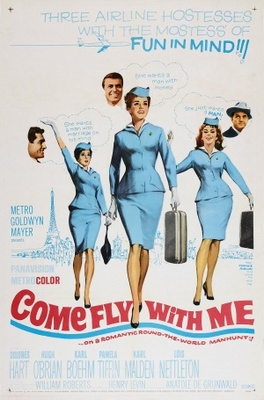 Come Fly with Me movie poster (1963) poster MOV_b454edb8