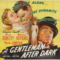 A Gentleman After Dark movie poster (1942) picture MOV_b45f270f