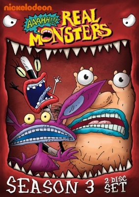 Aaahh!!! Real Monsters movie poster (1994) poster MOV_b4688f3e