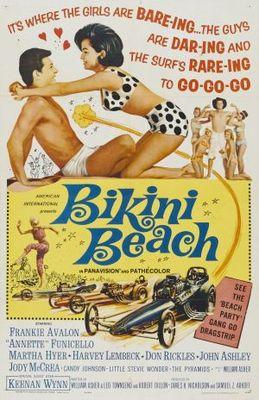 Bikini Beach movie poster (1964) poster MOV_b48f7d67
