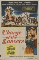 Charge of the Lancers movie poster (1954) picture MOV_b4956e92
