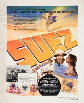 Suez movie poster (1938) poster MOV_b4a6635f
