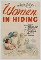 Women in Hiding movie poster (1940) picture MOV_b4b165a7