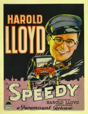 Speedy movie poster (1928) poster MOV_b4bf37f4