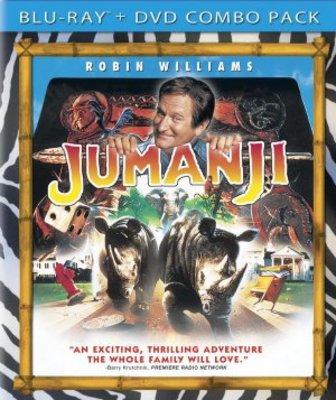 Jumanji movie poster (1995) poster MOV_b4c93e3c