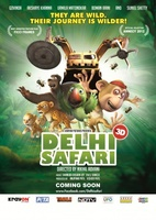 Delhi Safari movie poster (2011) picture MOV_b4d503b4
