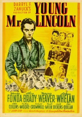 Young Mr. Lincoln movie poster (1939) poster MOV_b503fbd0