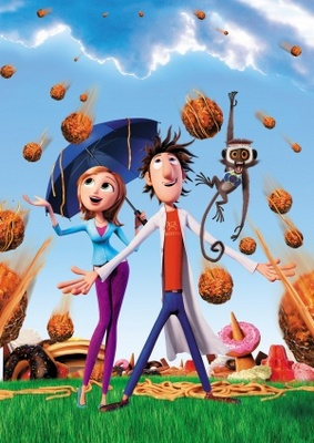 Cloudy with a Chance of Meatballs movie poster (2009) poster MOV_b55351e5