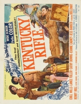 Kentucky Rifle movie poster (1956) poster MOV_b557150e