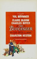 The Buccaneer movie poster (1958) picture MOV_1c2d3279