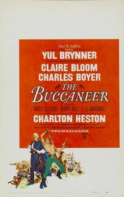 The Buccaneer movie poster (1958) poster MOV_b55b8636