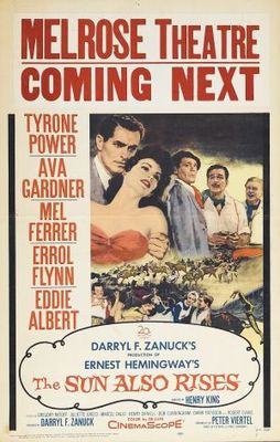 The Sun Also Rises movie poster (1957) poster MOV_b55d56d9