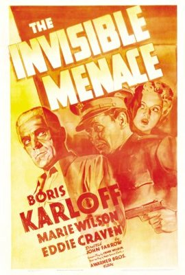 The Invisible Menace movie poster (1938) poster MOV_b5639674