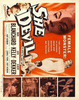She Devil movie poster (1957) picture MOV_b568b797