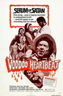 Voodoo Heartbeat movie poster (1975) poster MOV_b582e419