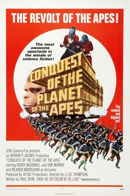 Conquest of the Planet of the Apes movie poster (1972) poster MOV_b5a7562a