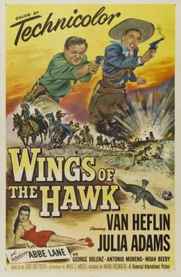 Wings of the Hawk movie poster (1953) poster MOV_b5afb53b