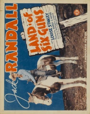 Land of the Six Guns movie poster (1940) poster MOV_b5bd7355