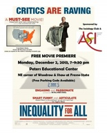Inequality for All movie poster (2013) picture MOV_b5c5d11b