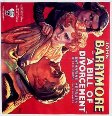 A Bill of Divorcement movie poster (1932) poster MOV_b5d98f68