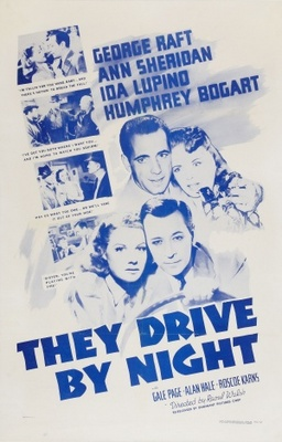 They Drive by Night movie poster (1940) poster MOV_b5de0b43