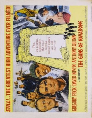 The Guns of Navarone movie poster (1961) poster MOV_b5f91ae1