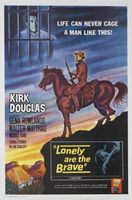 Lonely Are the Brave movie poster (1962) picture MOV_b60908db