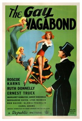 The Gay Vagabond movie poster (1941) poster MOV_b625fca2