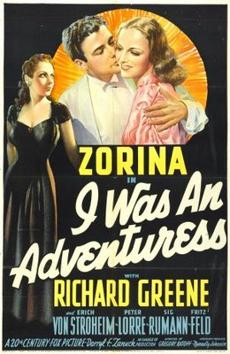 I Was an Adventuress movie poster (1940) poster MOV_b62db29a
