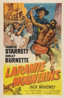 Laramie Mountains movie poster (1952) poster MOV_b64c53dc