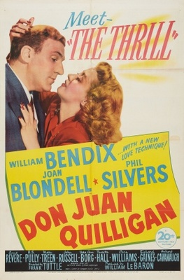Don Juan Quilligan movie poster (1945) poster MOV_b65346ea