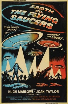 Earth vs. the Flying Saucers movie poster (1956) poster MOV_b672d08a