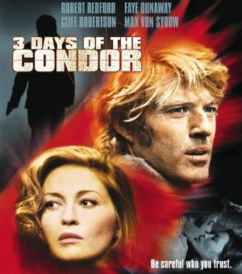 Three Days of the Condor movie poster (1975) poster MOV_b6733077