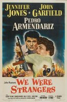 We Were Strangers movie poster (1949) picture MOV_b06d07bd