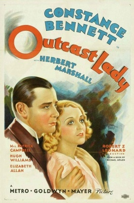 Outcast Lady movie poster (1934) poster MOV_b6828e3d