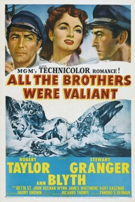 All the Brothers Were Valiant movie poster (1953) poster MOV_b6c7d112