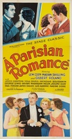 A Parisian Romance movie poster (1932) picture MOV_b6df66b7