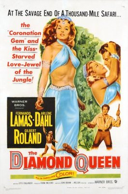 The Diamond Queen movie poster (1953) poster MOV_b6e50190